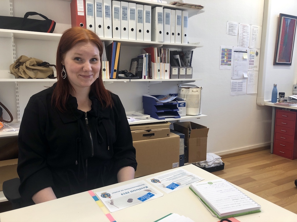 Esittelyssä uusi opintosihteeri Elina Salminen