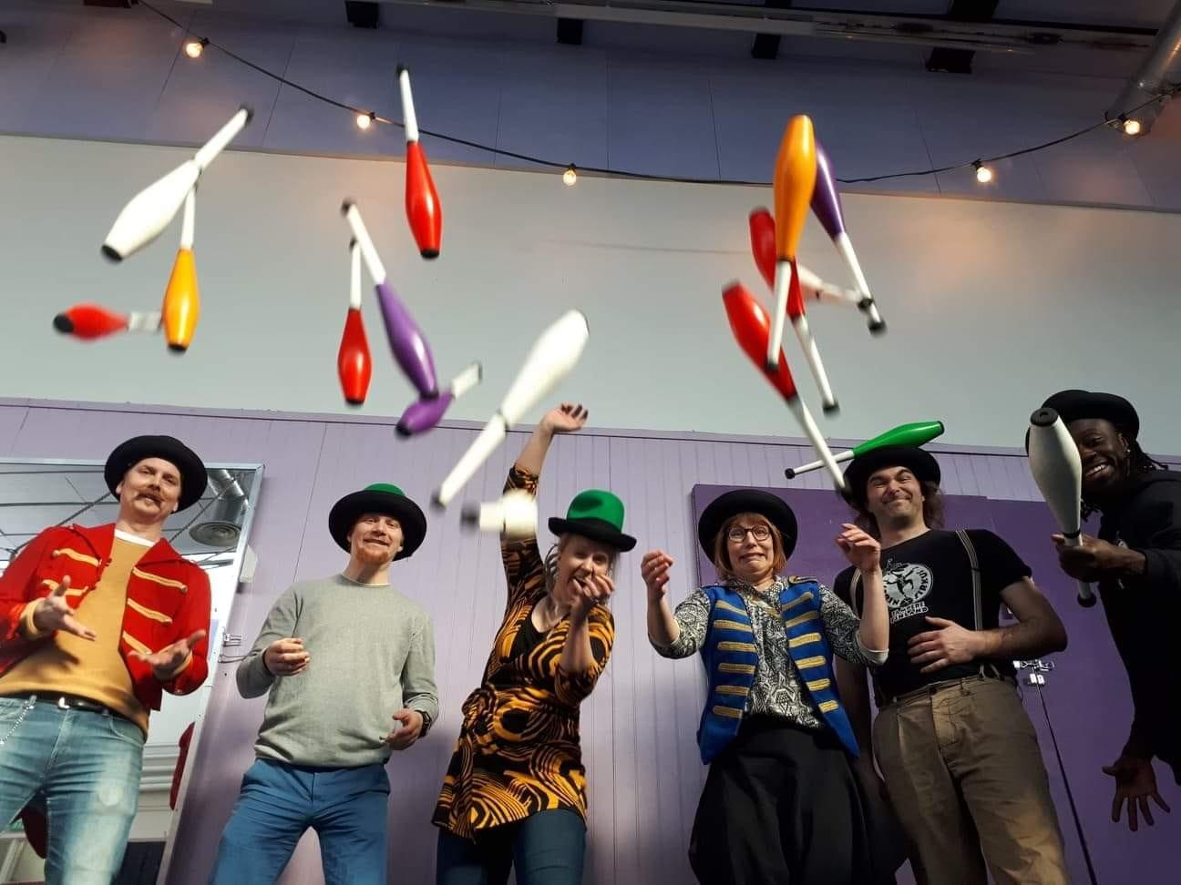 Sosiaalisen sirkuksen päivää vietettiin 6.4.2019